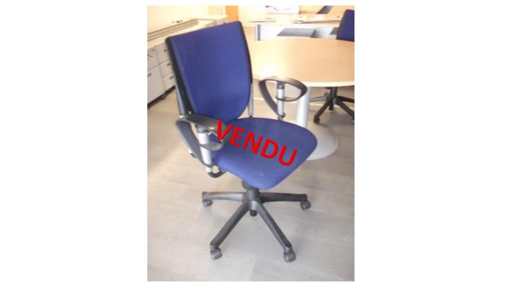 chaise de bureau occasion avec accoudoirs (49 € H.T)
